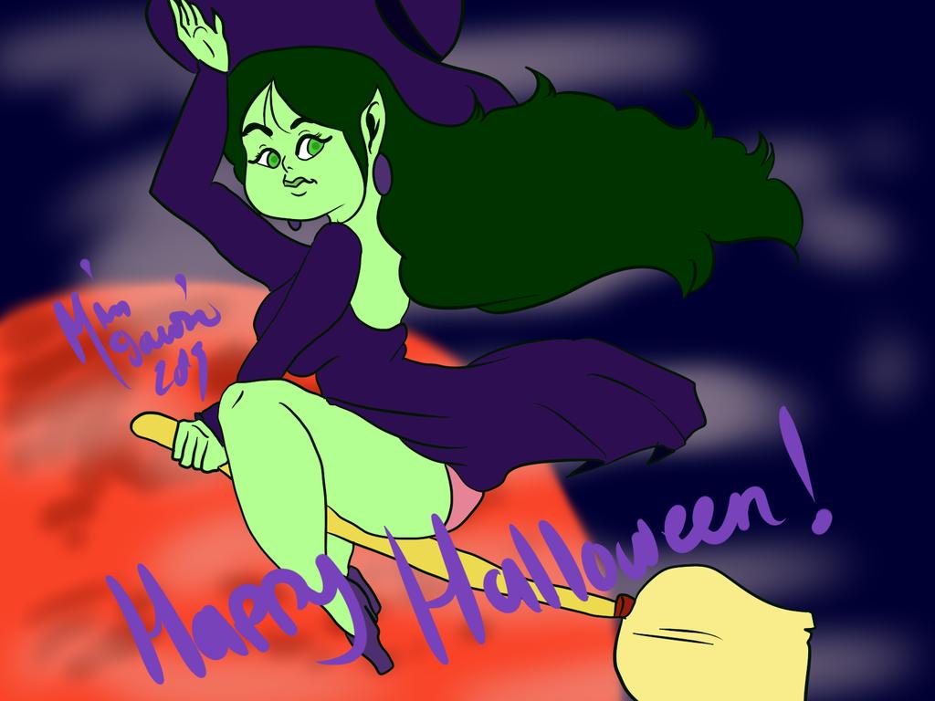 Happy Halloween! by LoriAndroid2000