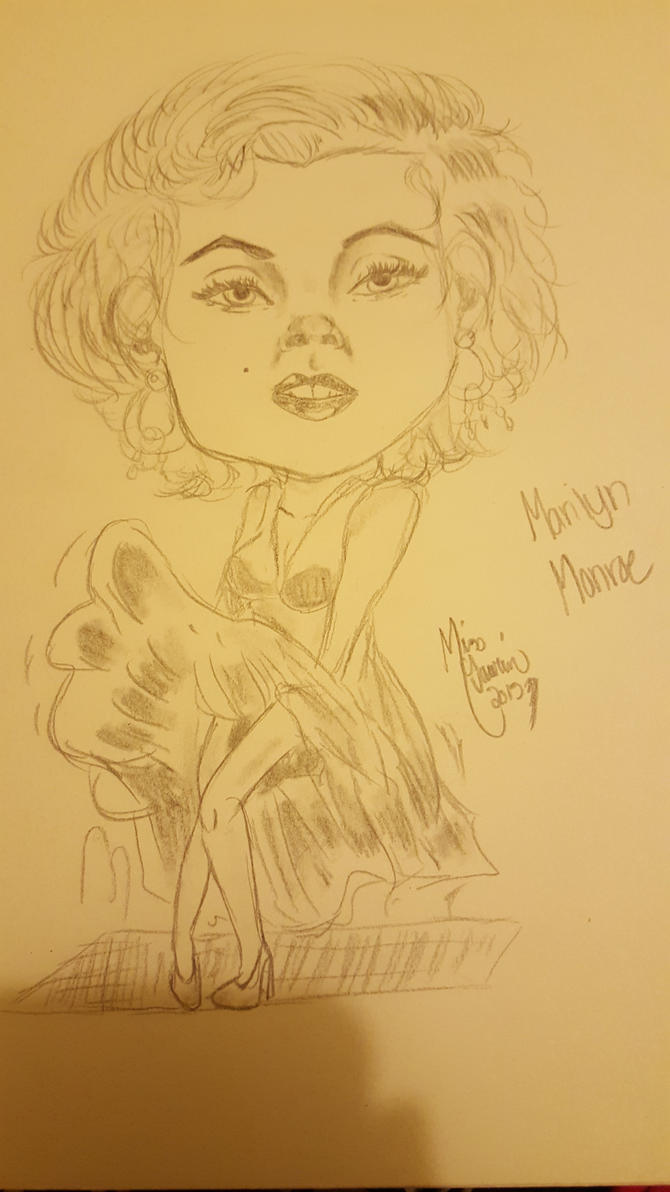 Marilyn Monroe by LoriAndroid2000