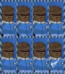 The Many Moods of Commander Bortus