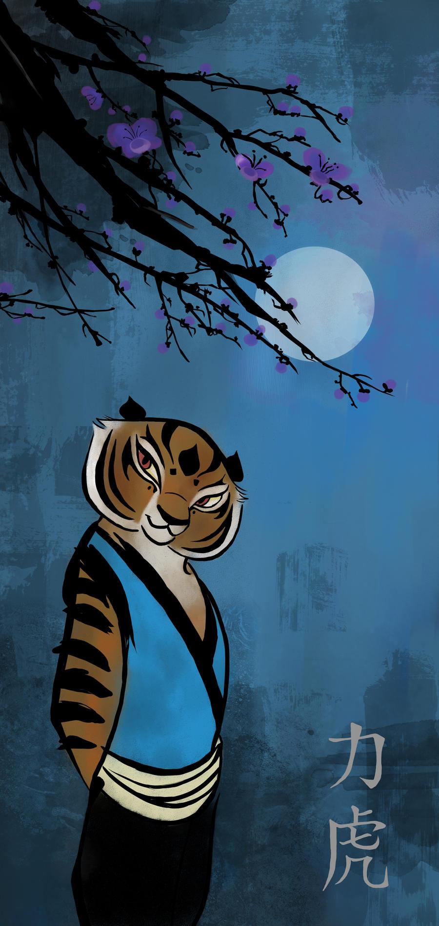 KFP Master Tigress through the Night by nogreydf