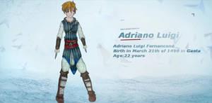 My Assassins Creed OC Adriano Luigi Fernancone by nogreydf