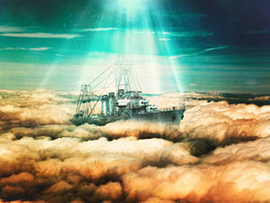 Above-the-clouds-ship