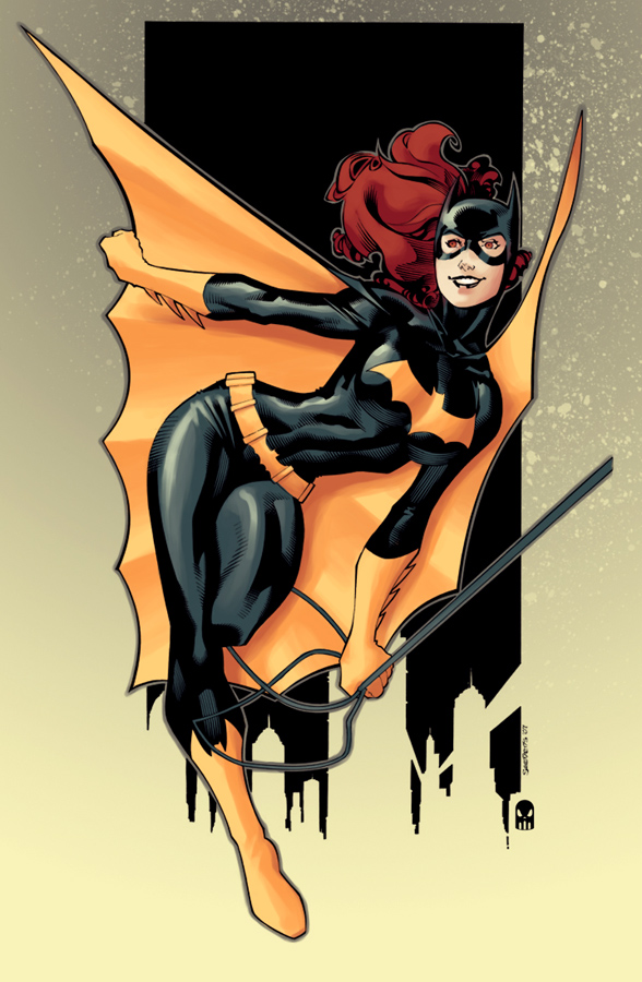 Batgirl by chriss2d by MAROK-ART
