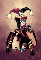 Harley Quinn by olivernome by MAROK-ART
