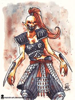 Sketch 081 Female Baraka