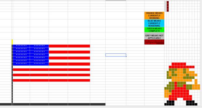 Official spreadsheet