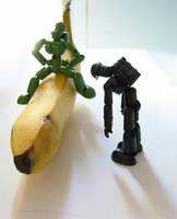i want a big banana by DivineError