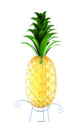 Pineapple PRINT by DivineError