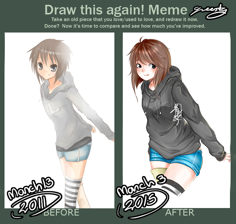 Before and After Meme. by Greesty