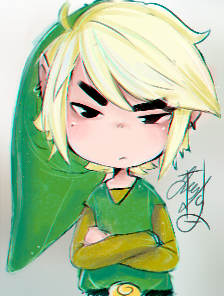 Link Spitpaint by Greesty