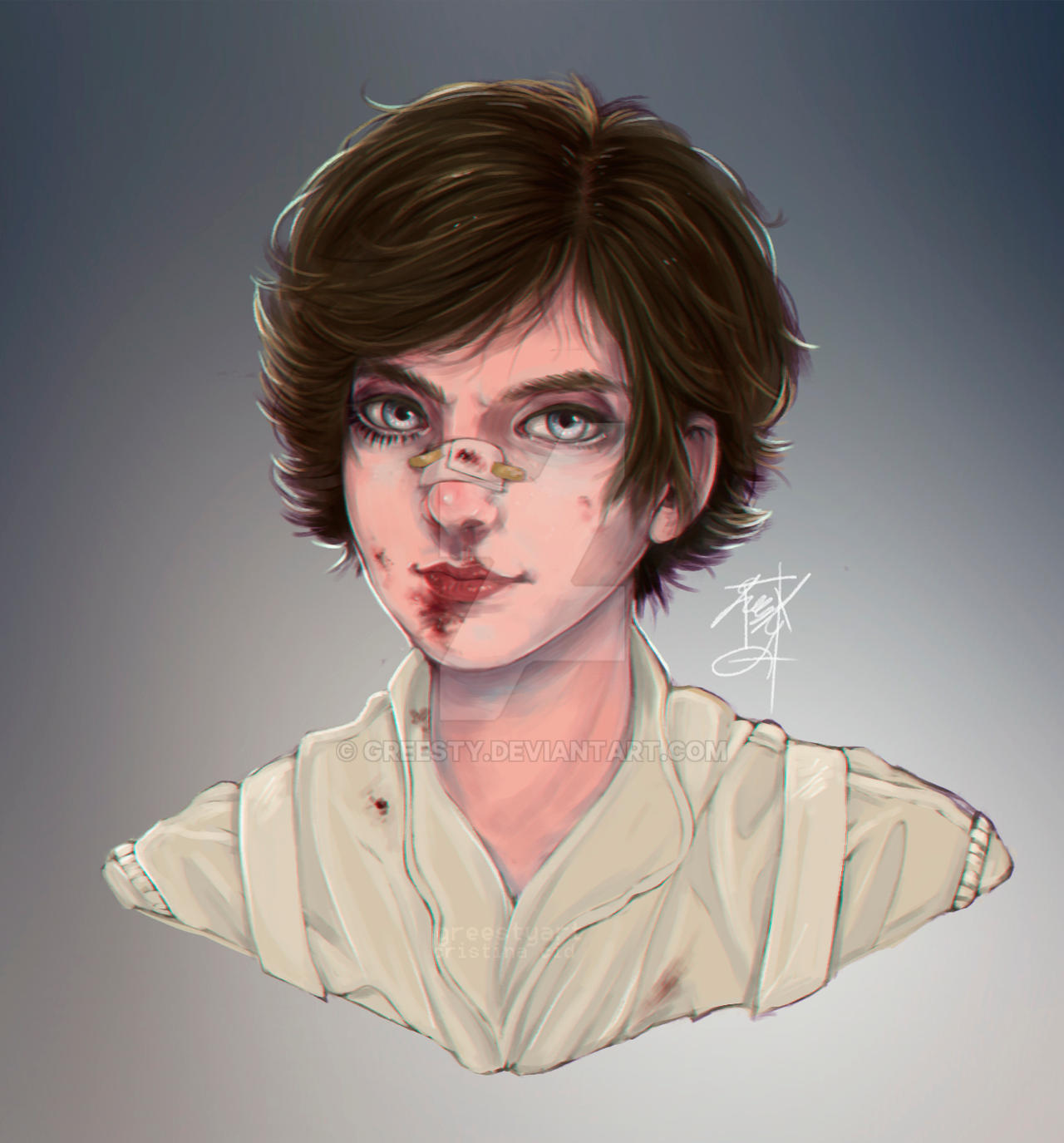 Alex DeLarge by Greesty on DeviantArt