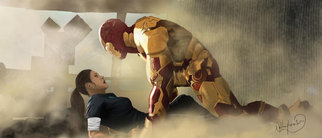 I got you first - Rule 63 Tony Stark by nottonyharrison