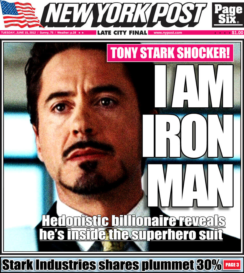 Tony Stark S Car Color At The End Of Avengers