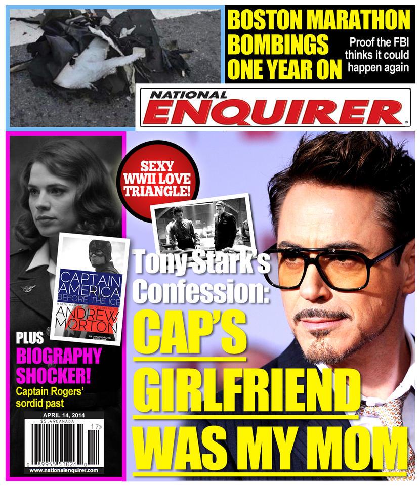 National Enquirer Headlines National Enquirer April 14