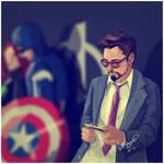 Tony Stark Candid