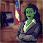 She-Hulk -  courtroom