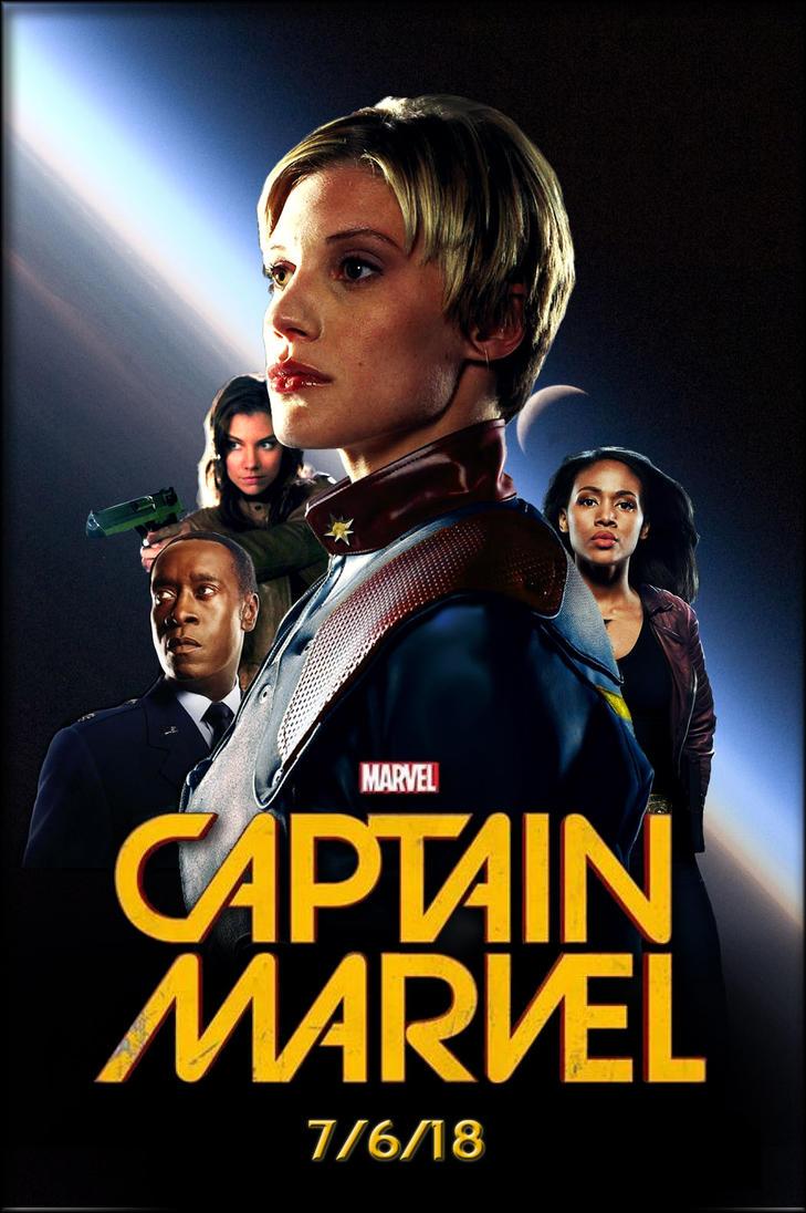 Captain Marvel 2018 by nottonyharrison