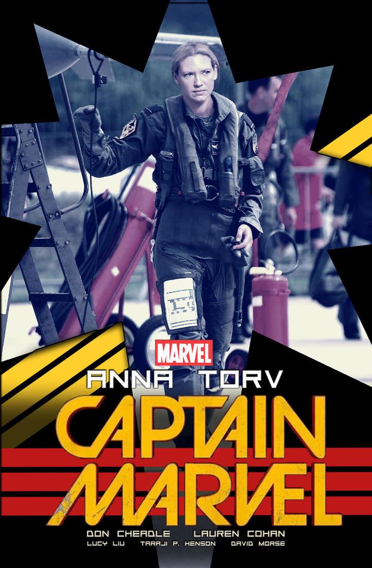 Captain Marvel 2018 #2 by nottonyharrison