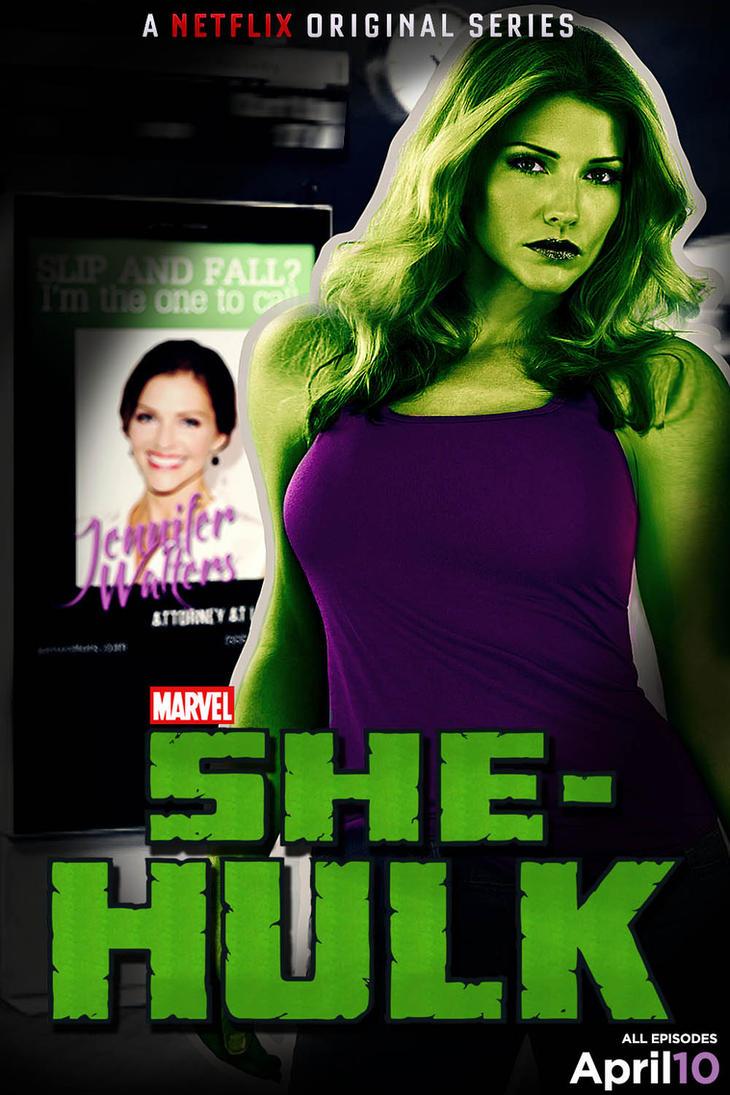 She-Hulk poster by nottonyharrison