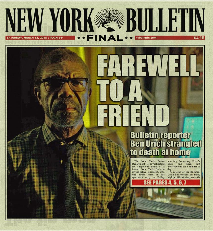 New York Bulletin, March 14, 2015 by nottonyharrison