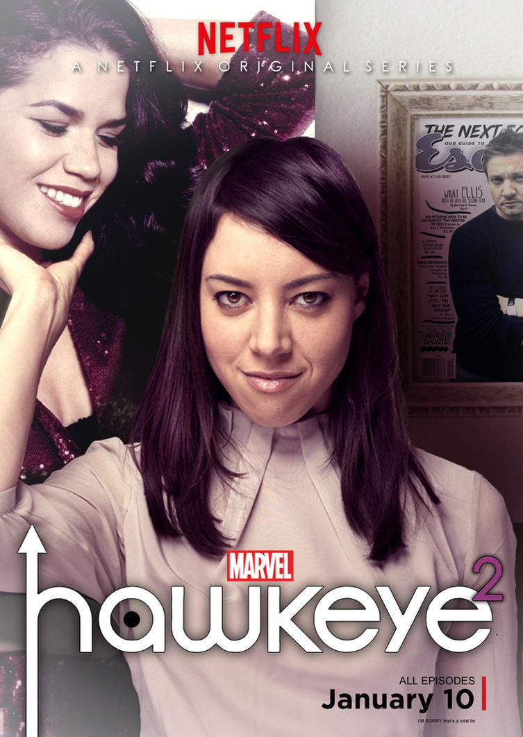 Hawkeye Squared Poster 3 by nottonyharrison