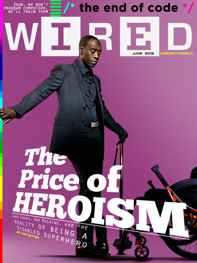Wired, June 2016 by nottonyharrison
