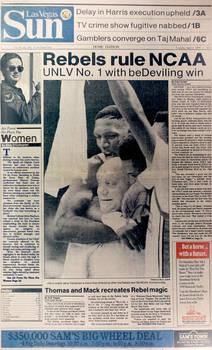 The Las Vegas Sun, April 3 1990