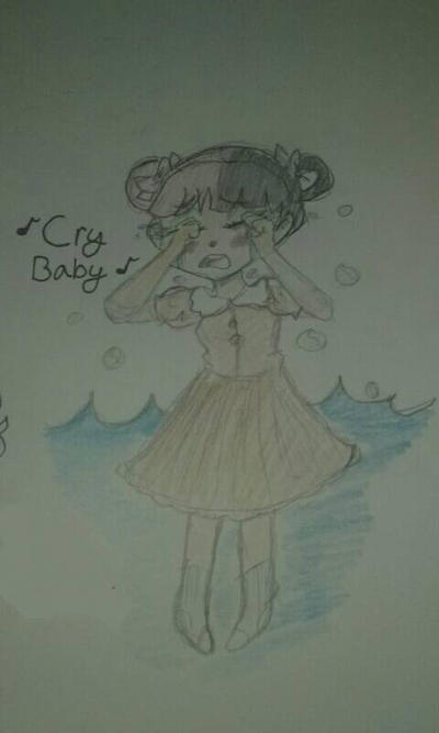 (Coloured) Cry Baby by Shimmering-Moon