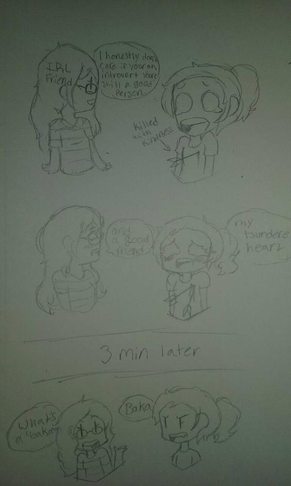 Tsundere heartbreaker by Shimmering-Moon