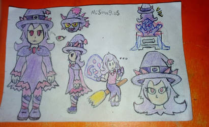 Ghost trick witch