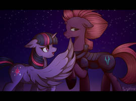 I can see a rainbow [MLP: The movie] by Forythien