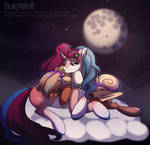 Under violet moon [MLP YCH]