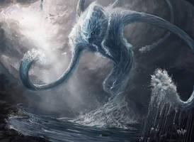 Water Elemental by Jackal0fTrades