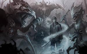 A Frozen Monster Amongst Beasts by Jackal0fTrades