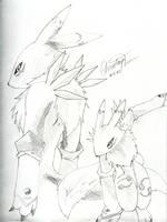 Digimon - Renamon by SerenityyX3