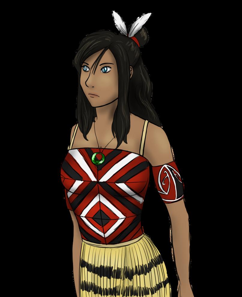Maori Korra by Dreamfollower