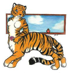 Tiger Taur Sky by Firebringer