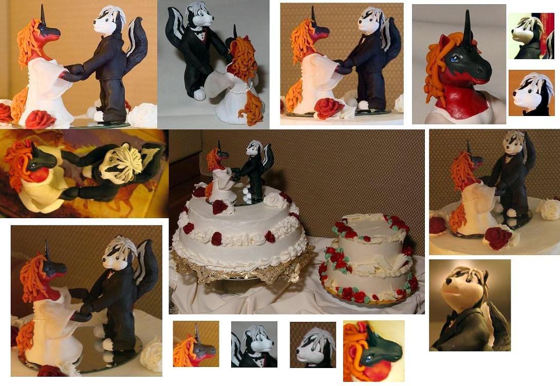 Artist Wedding Cake Toppers : Wedding Cake Toppers by Firebringer on deviantART