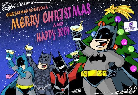 CHRISTMAS CARD CLUB BATMAN by Club-Batman on DeviantArt