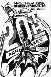 Ernie Chan Club Batman 20th 2