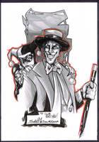 Salvo Muscara Joker Harley Quinn by Club-Batman