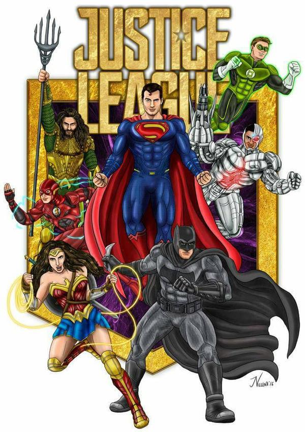 Jose Villena Justice League Expo by Club-Batman