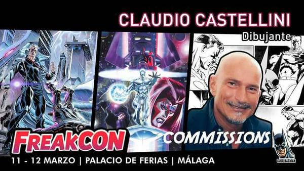 Claudio Castellini Club Batman Freakcon by Club-Batman