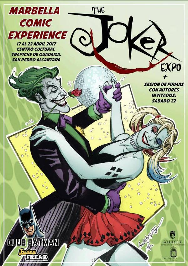 Club Batman: The Joker Expo Especial Marbella Comi by Club-Batman