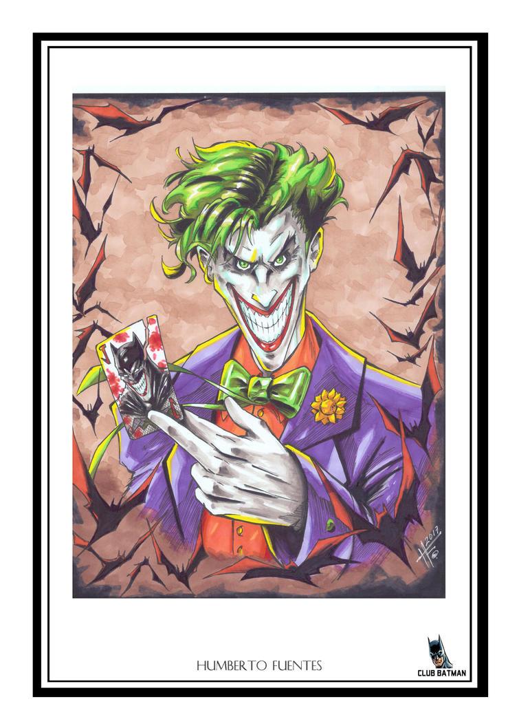 Humberto Fuentes The Joker by Club-Batman