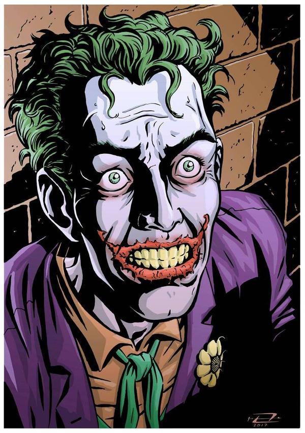 Riccardo  Frezza Club Batman: The Joker Expo by Club-Batman