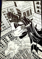Francho Quilez. Club Batman: Tim Burton Movies Ex by Club-Batman