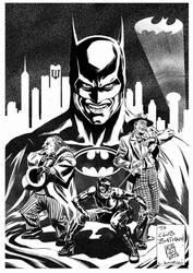 Luca Bonessi Club Batman: Tim Burton Movies Expo I