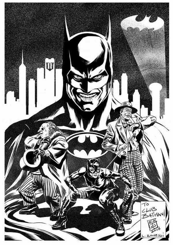Luca Bonessi Club Batman: Tim Burton Movies Expo I by Club-Batman