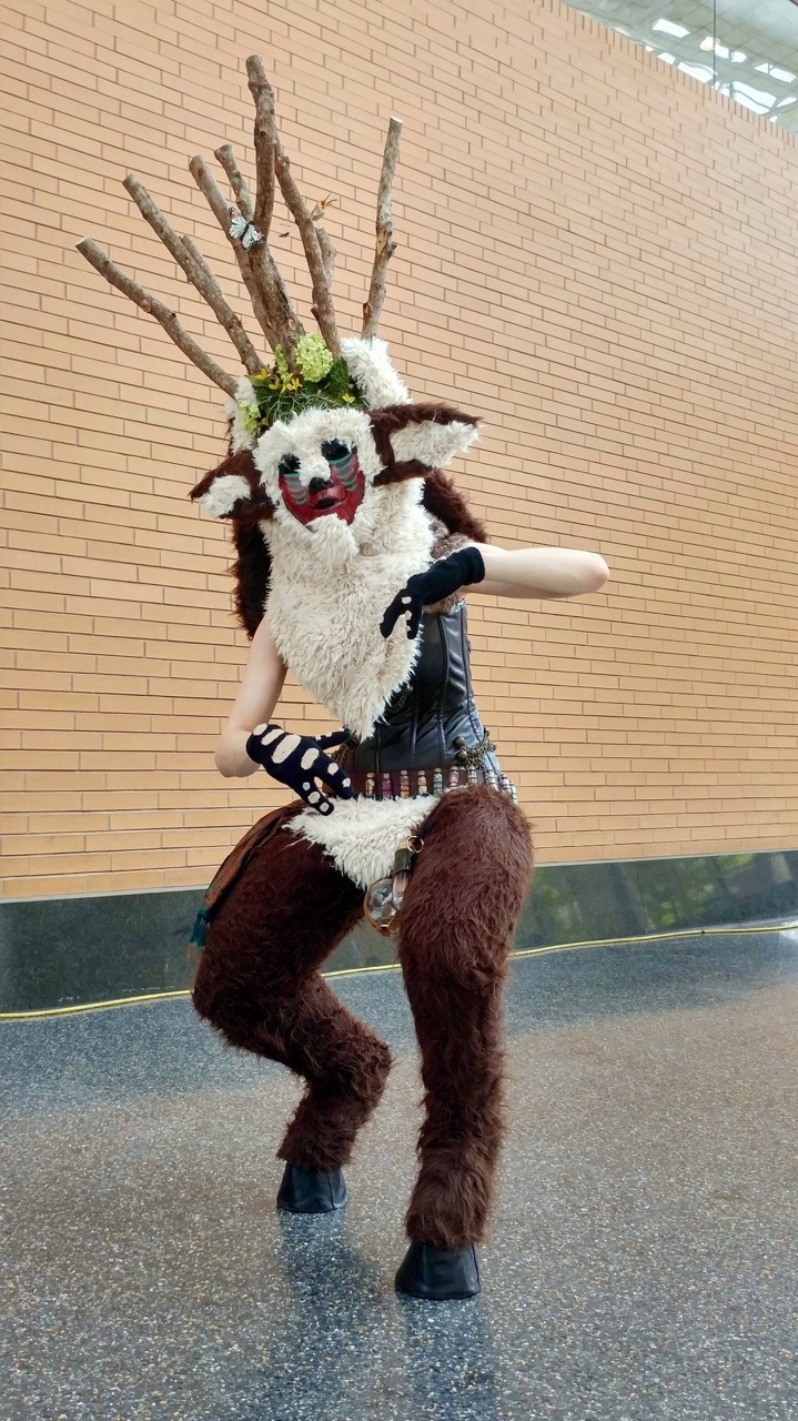 Princess Mononoke Spirit Of The Forest Cosplay By Chelseam2 On
